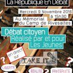 Le 9 novembre venez nous retrouver au Mémorial du Camp de Rivesaltes !