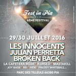 TAKE IT ! sur FEST'IN PIA ce weekend !