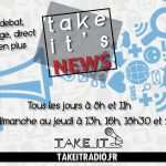 [PODCAST] Take it's News : Interview de Cecile Hernandez !